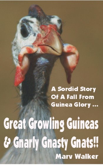 Great Growling Guineas<br>&amp; Gnarly Gnasty Gnats!! e-book cover.