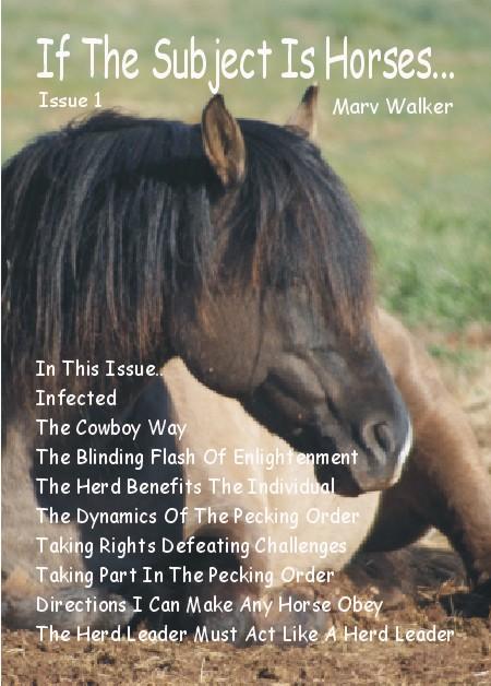 Subject Horses eBook Cover